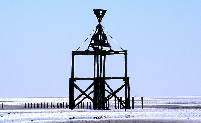 Strandbaake auf Wangerooge