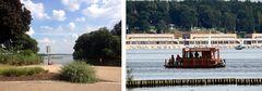 Strandbad Wannsee, Entfernung, tatsächlich 4km