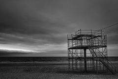 Strandbaustelle