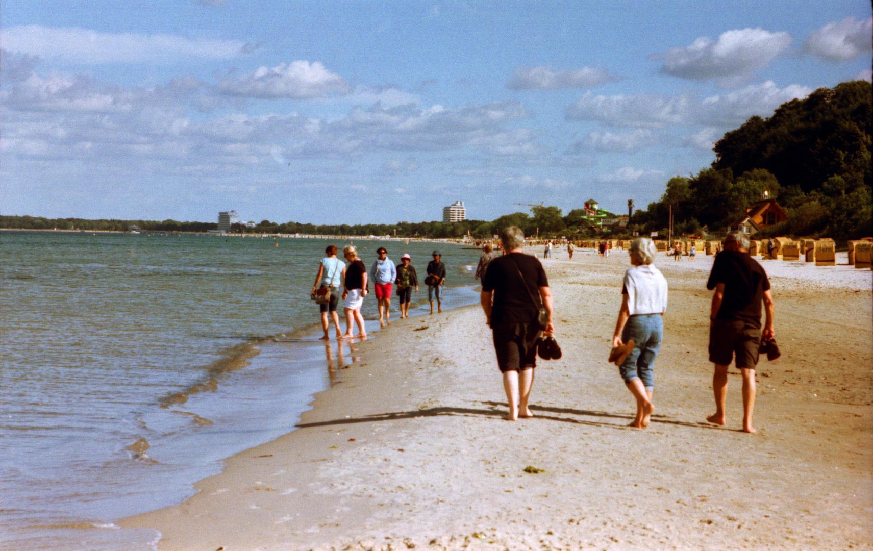 Strandbilder wie anno Tobak