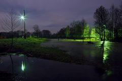 """Strandblick"" bei Nacht"