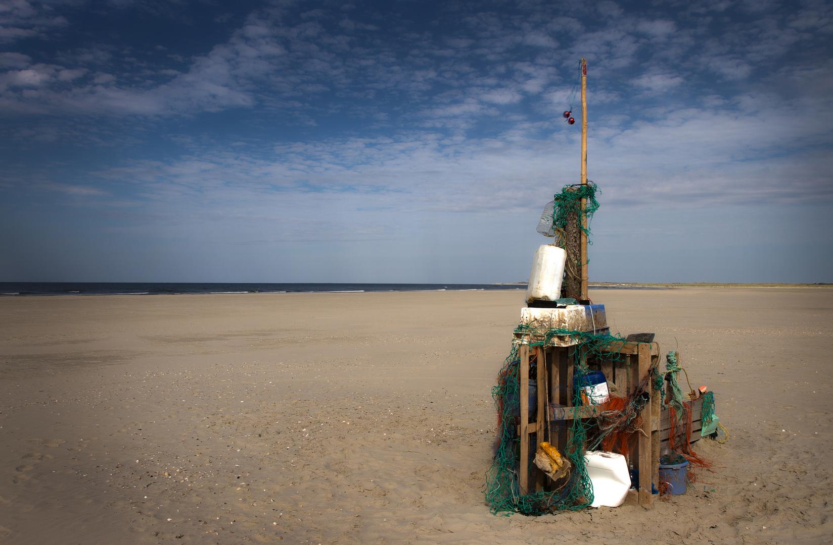 Strandgut im Norden der Insel