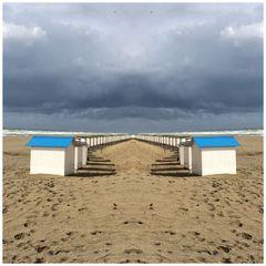 Strandhausspiegelung