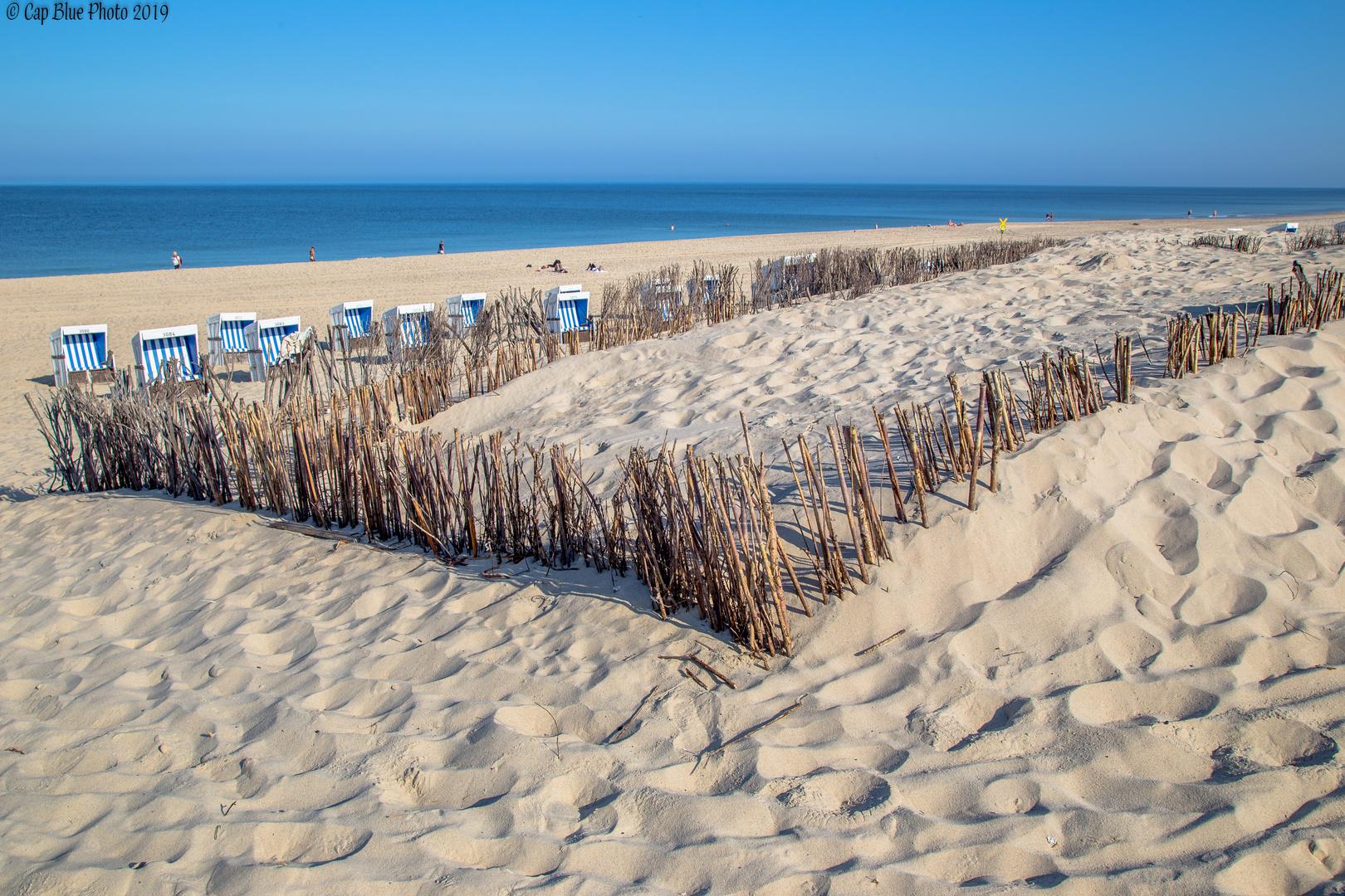 Strandherz Sylt zwischen Westerland und Wennigstedt