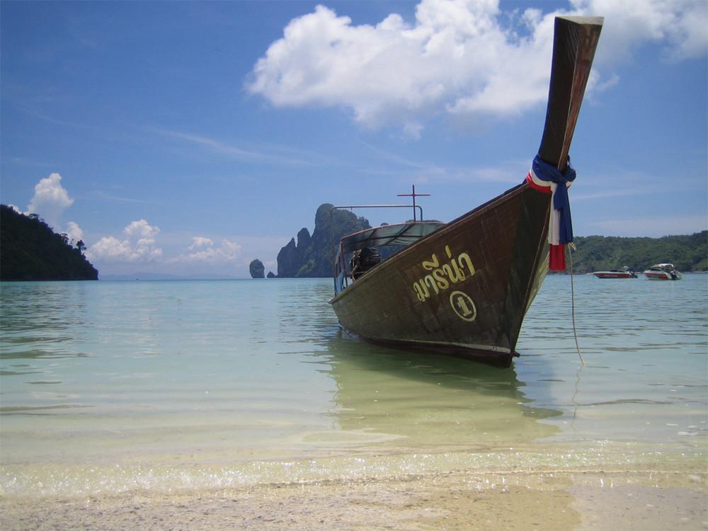 Strandidylle auf der Trauminsel Ko Phi Phi
