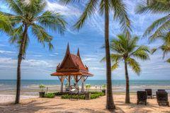 Strandidylle in Hua Hin, Thailand