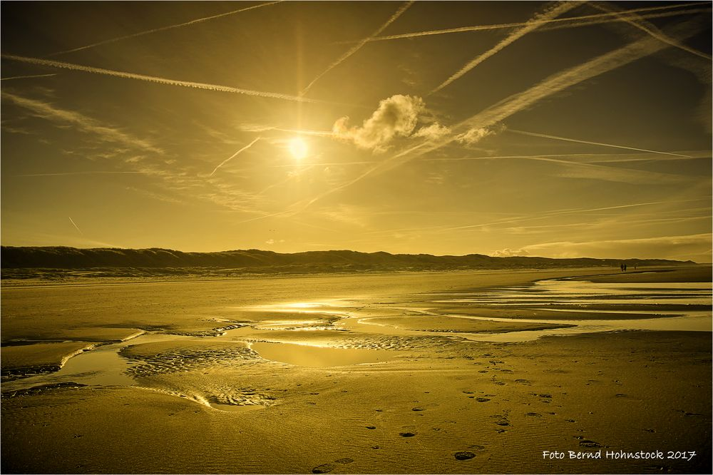 Strandimpressionen auf Texel ....