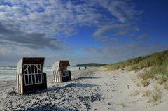 Strandkörbe auf Hiddensee