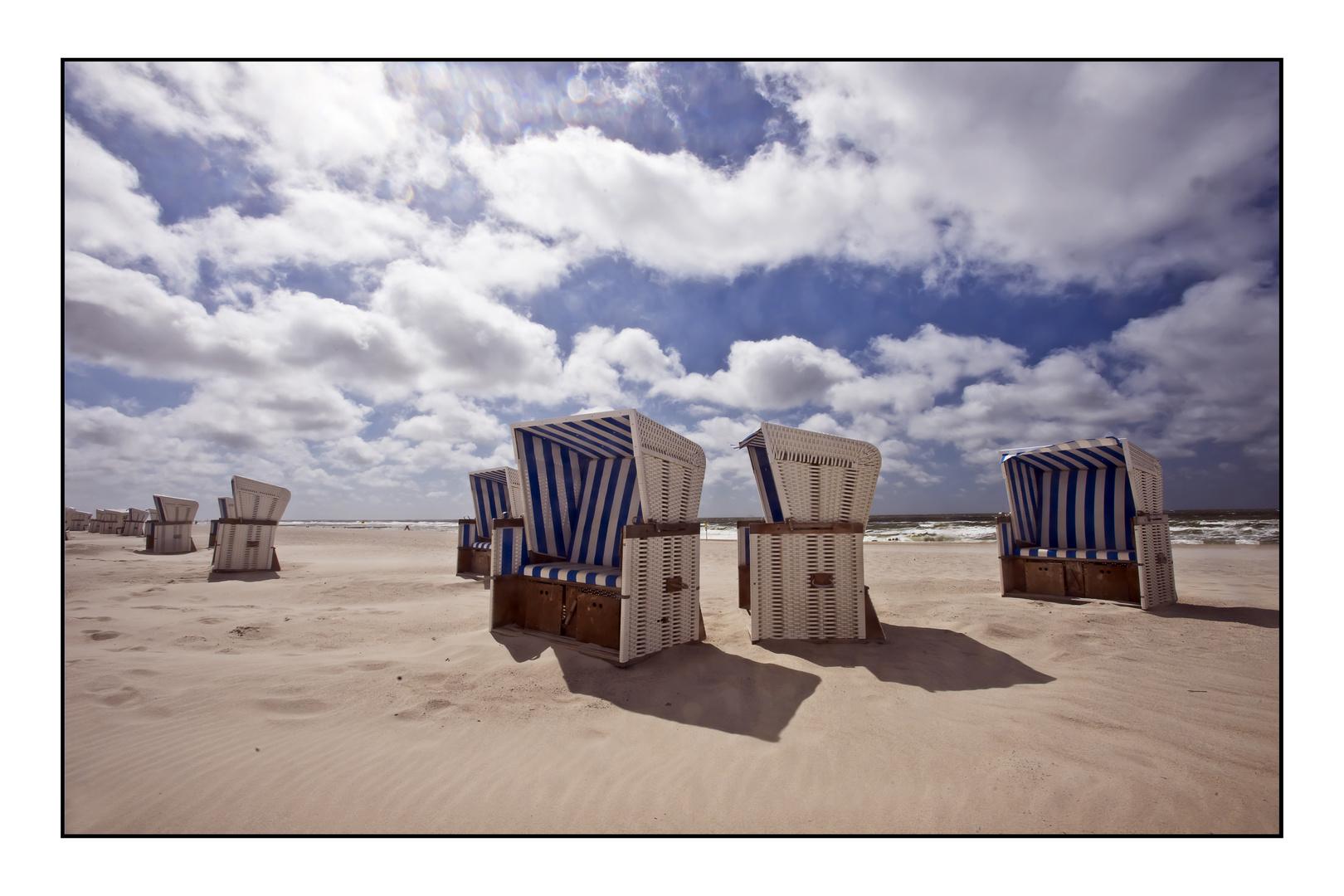 Strandkörbe auf Sylt (3)