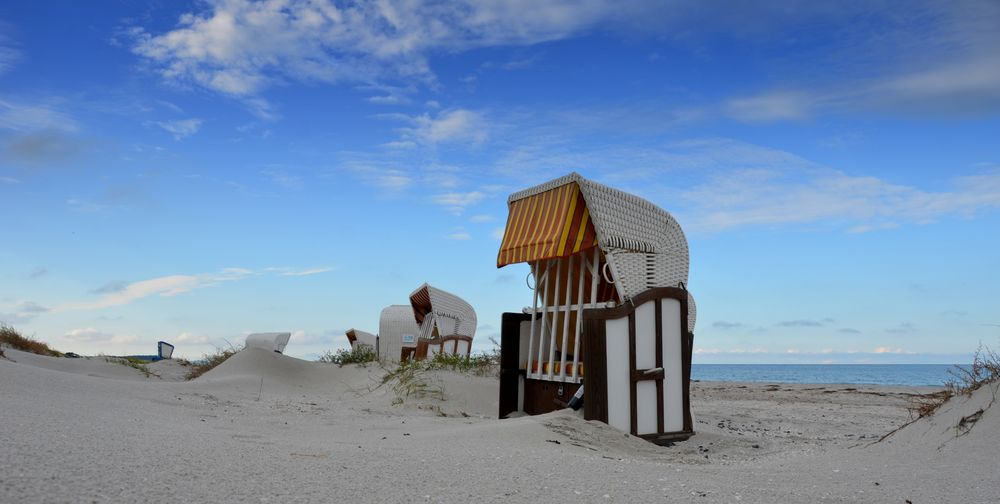 Strandkörbe Hiddensee