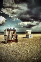 Strandkorb.