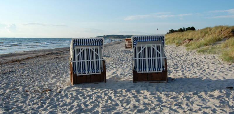 Strandkorb auf Hiddensee