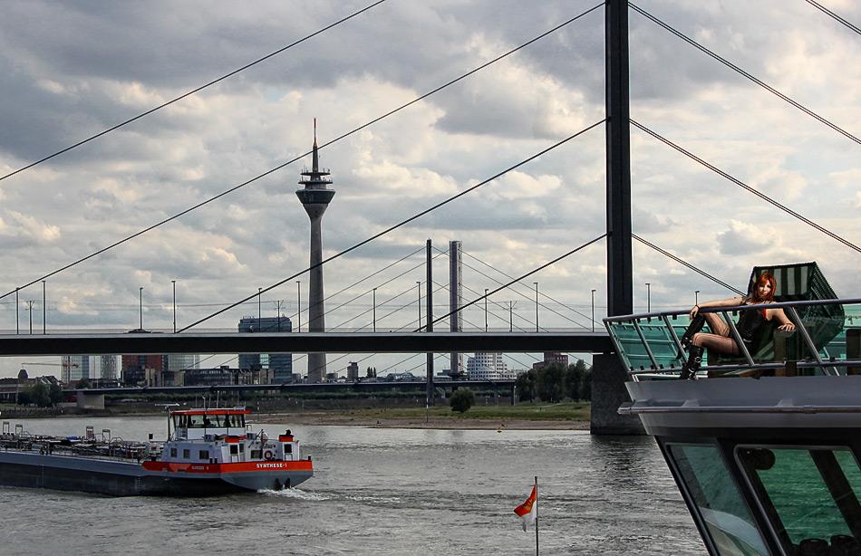 Strandkorb in Düsseldorf