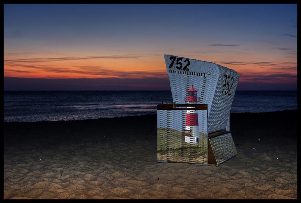 Strandkorbanstrich :-)