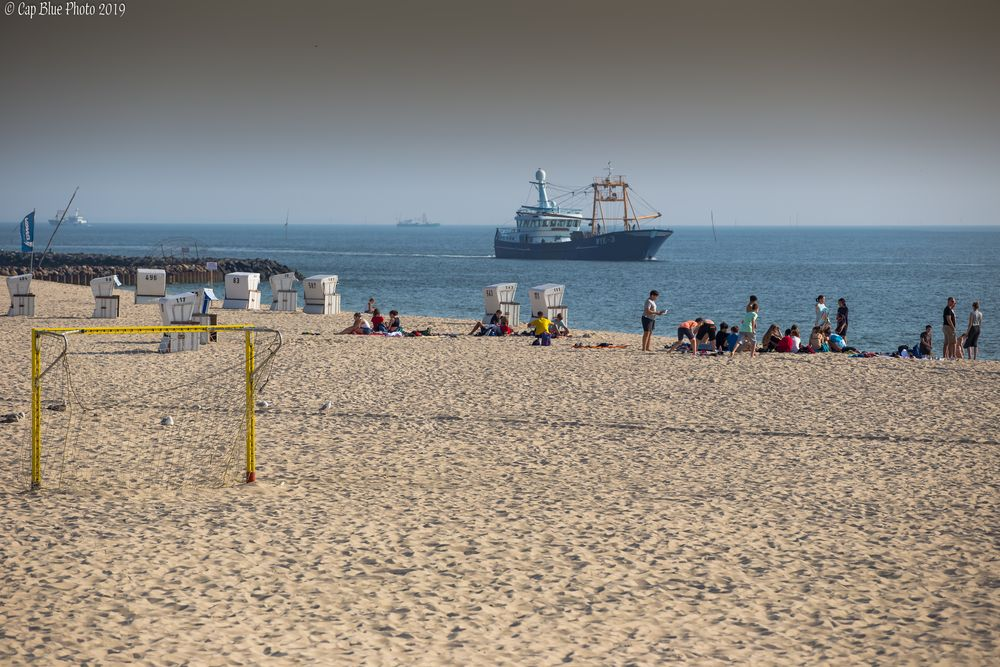 Strandleben in Hörnum