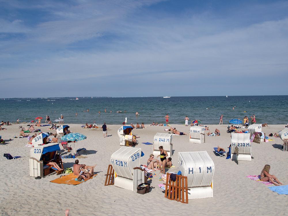 Strandleben Scharbeutz