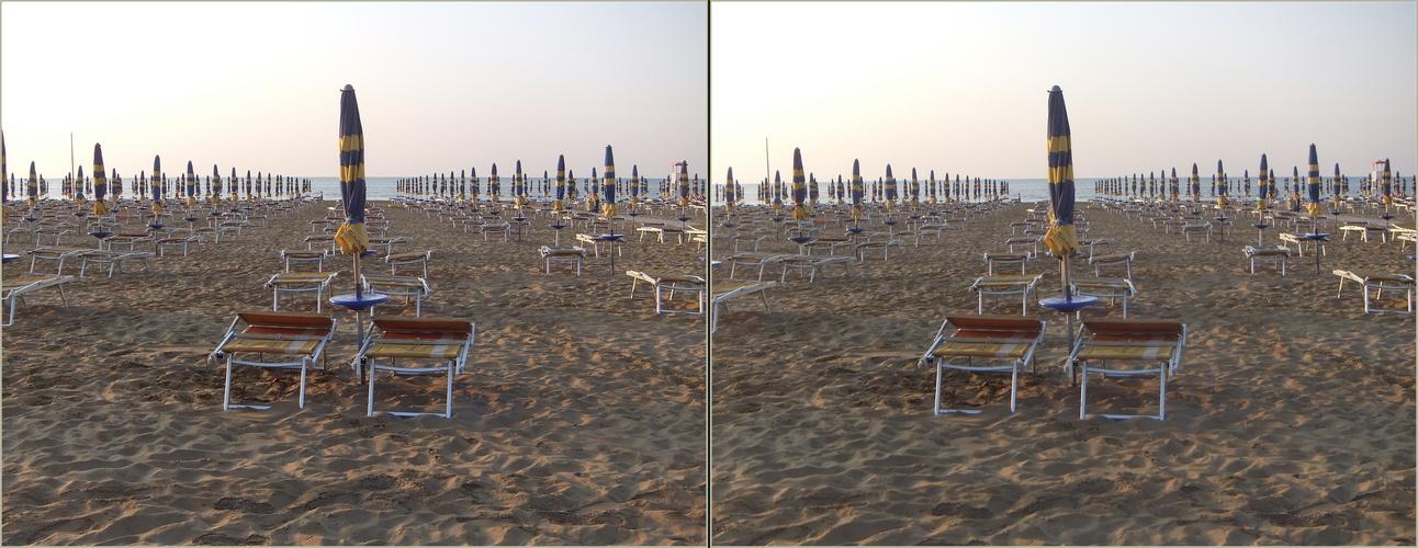 Strandliegen Lignano