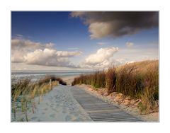 Strandpfad