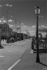 Strandpromenade in Scheveningen...