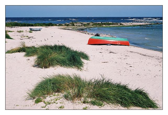 Strandruhe am Snogebaek Havn ...