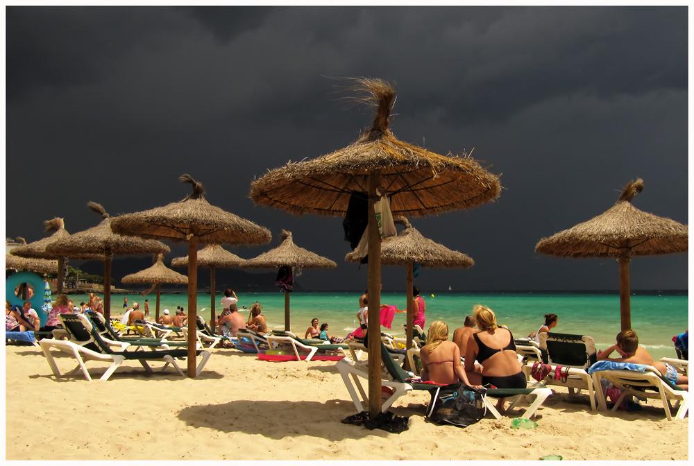 Strandtag auf Mallorca