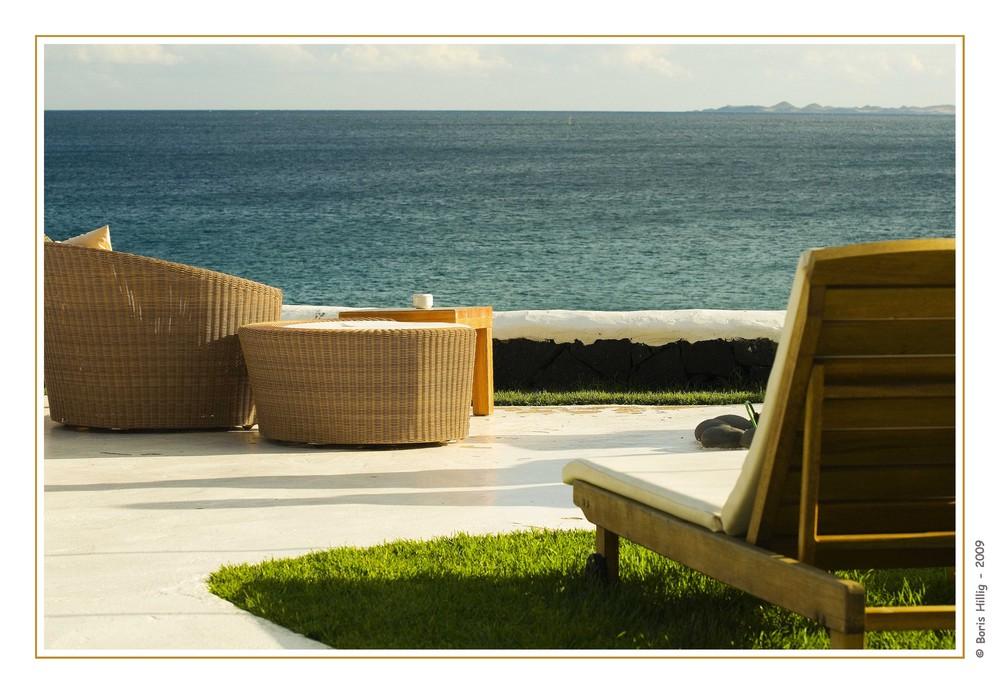 Strandterrassen-Möbel