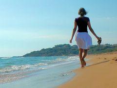 Strandwanderin