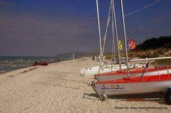 Strandwetter auf Hiddensee