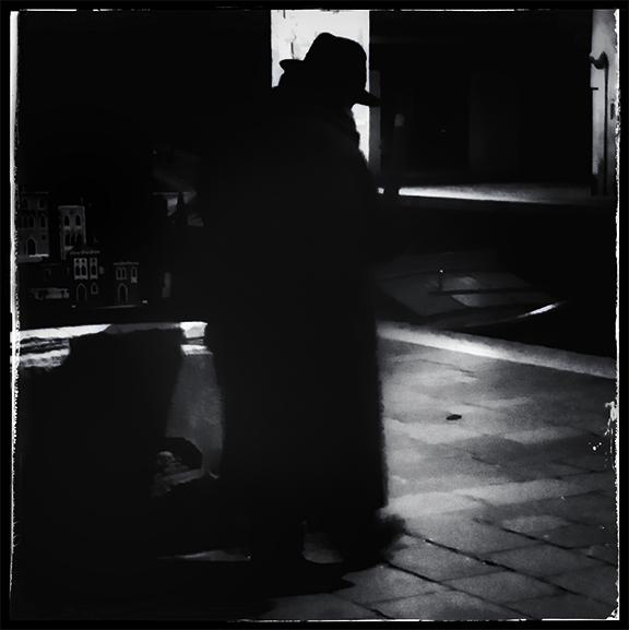 Stranger Wearing Dark Hat and Heavy Coat #2