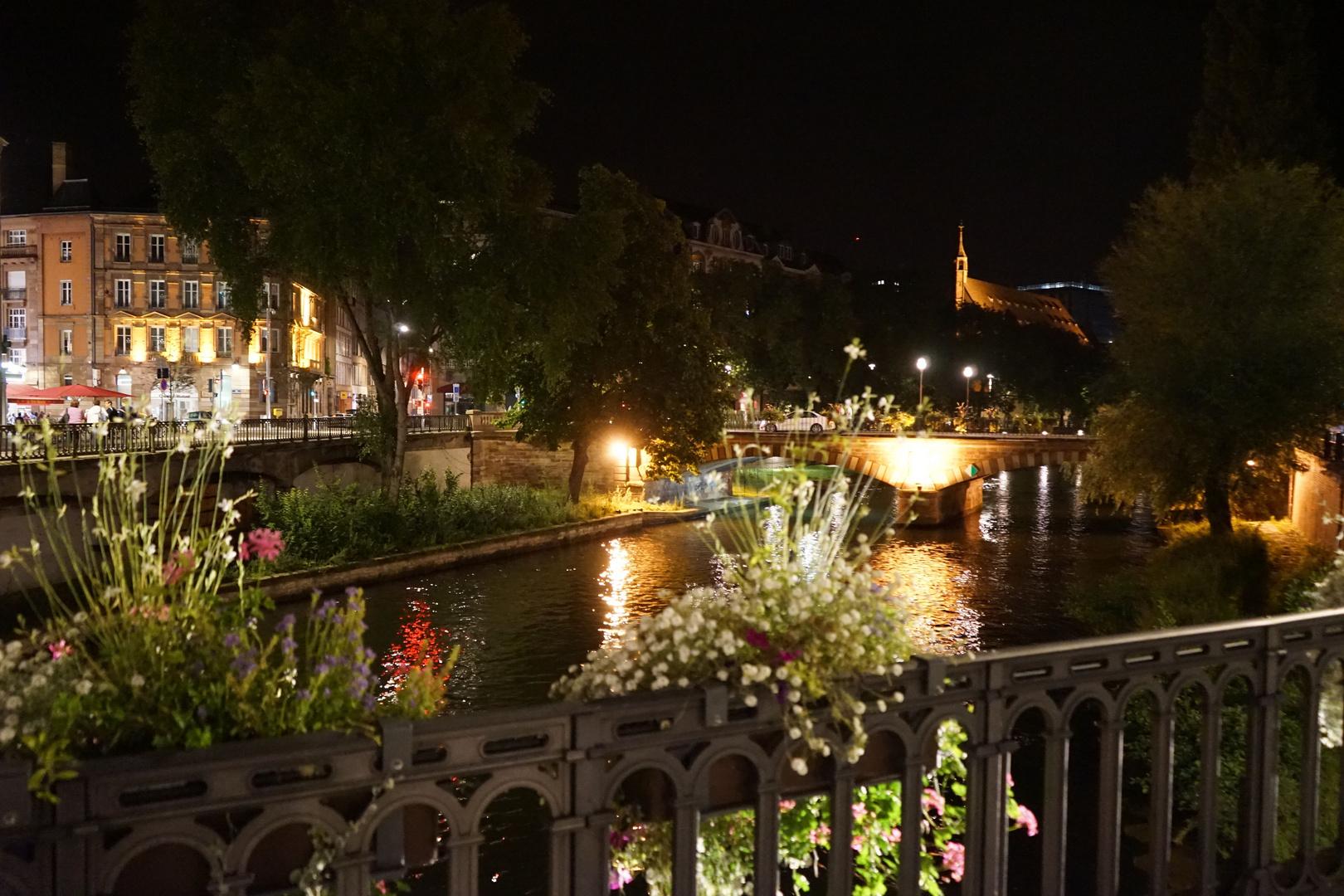 Strasbourg bei Nacht