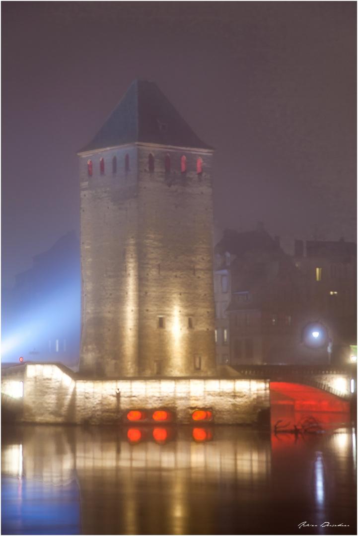 """Strasbourg - Tour des """"ponts couverts"""""""