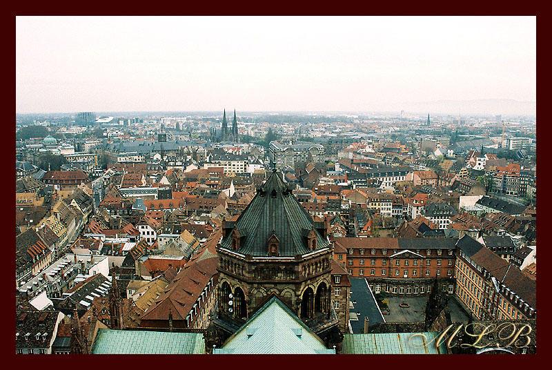 Strasburg von Oben