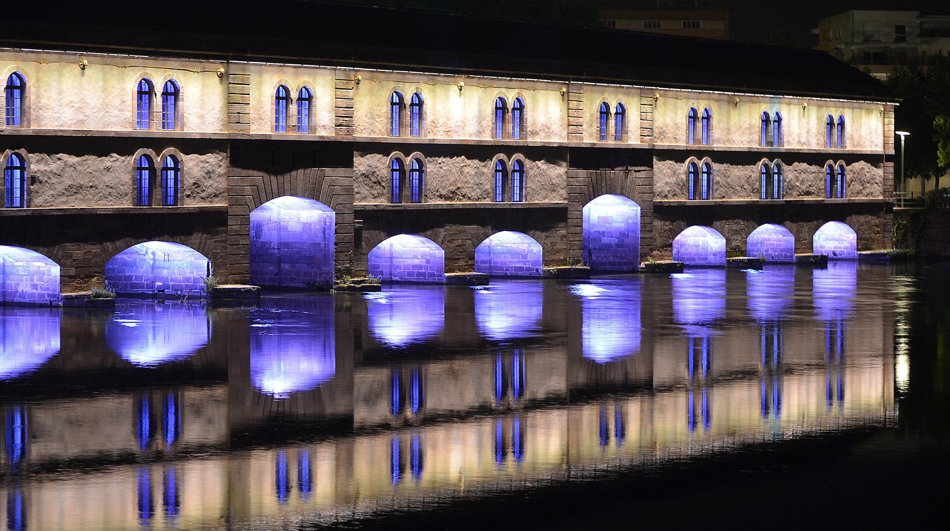 Straßburg bei Nacht