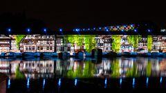Straßburg in Wasser und Licht