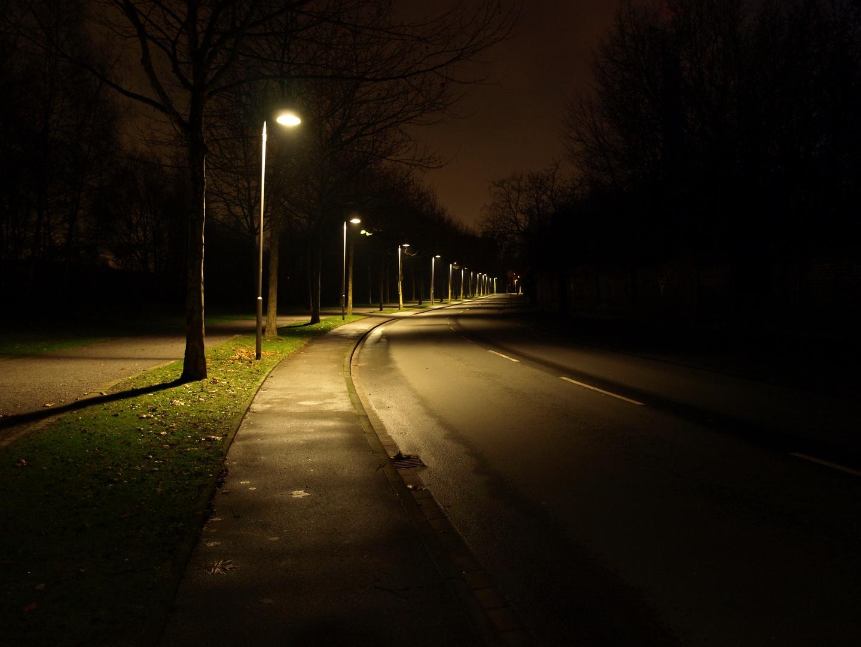 Straße am Landschaftspark DU-Nord