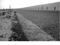 Straße am Meer