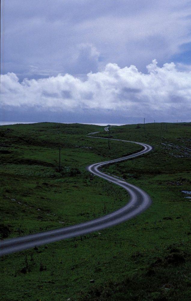 Straße bei Killybegs