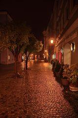 Straße bei Nacht I