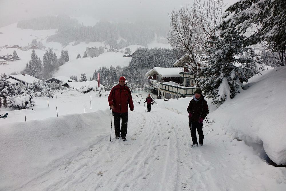 Strasse beim Alpenblick Höfle19
