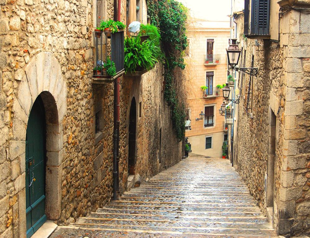 Strasse en Girona