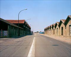 Straße im Hafen