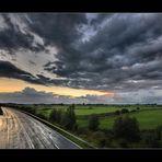 Straße im Jeverland