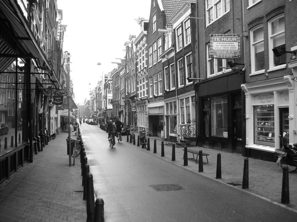 Strasse in Amsterdam