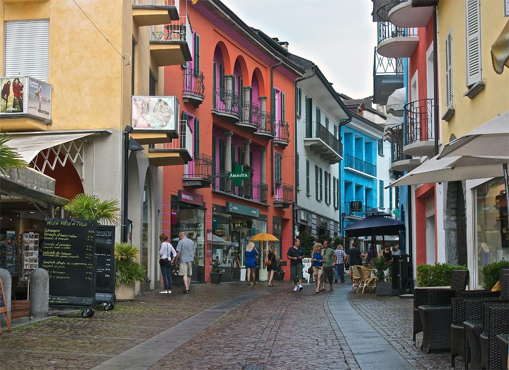 Straße in Ancona