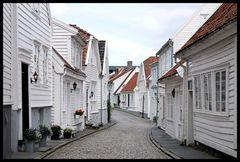 Straße in Gamle Stavanger