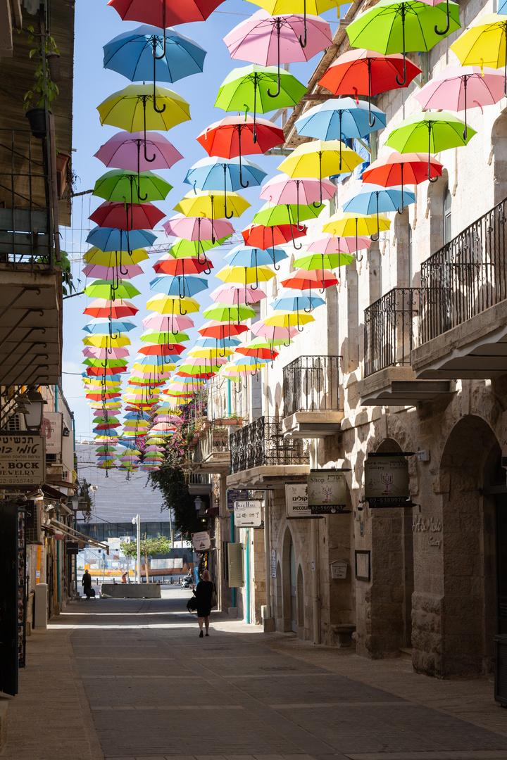Strasse in Jerusalem