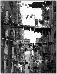 Strasse in Neapel