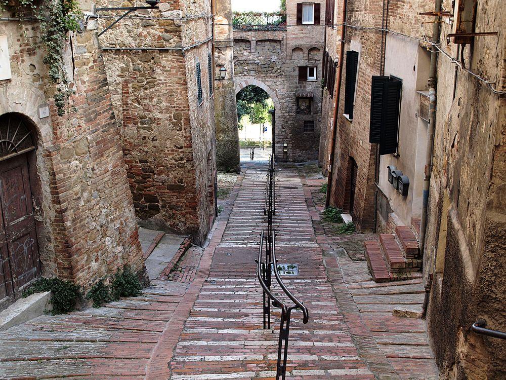 Straße in Perugia