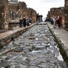Straße in Pompeje