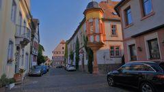 Straße in Steinheim (calle en Steinheim)